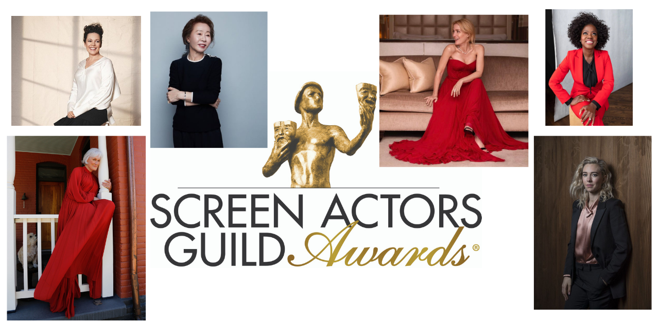 Congratulations!  Winser London looks at inspiring women of the SAG Awards 2021