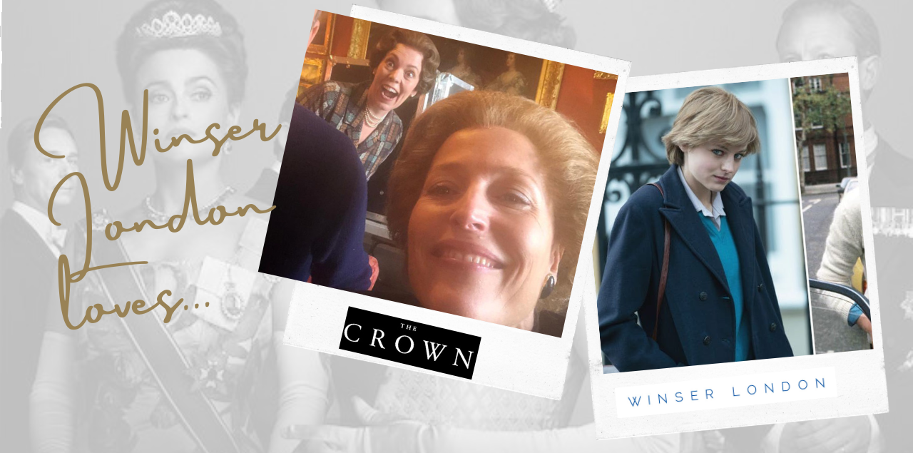Winser London loves superb female actresses in Netflix series The Crown