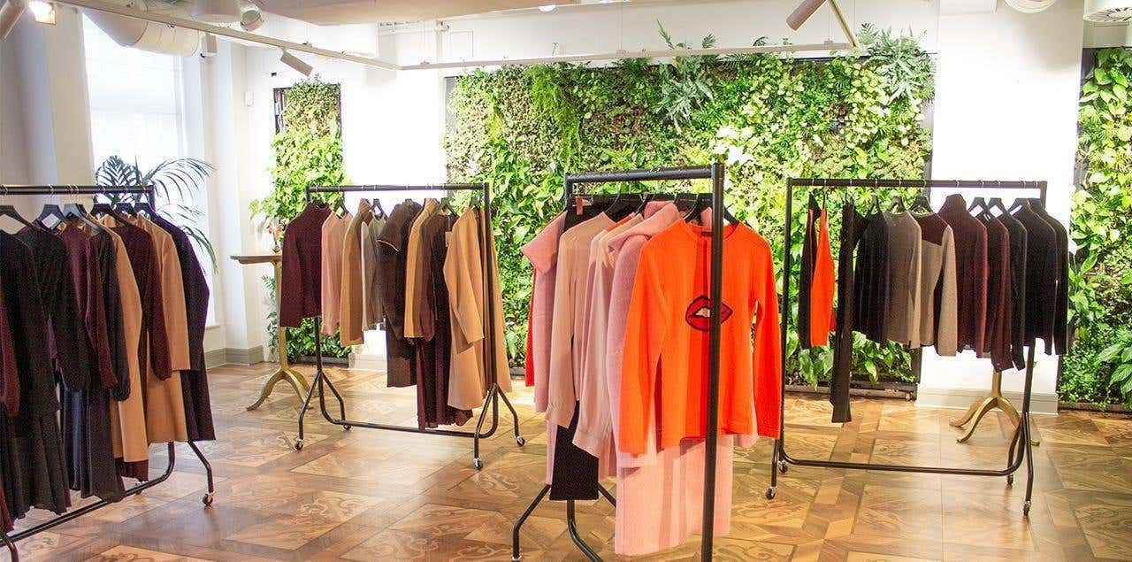 Inside the Gillian Anderson for Winser London Launch Event