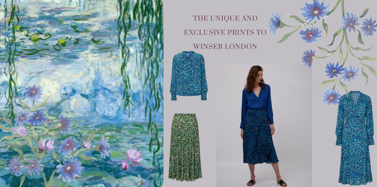The unique and exclusive prints to Winser London