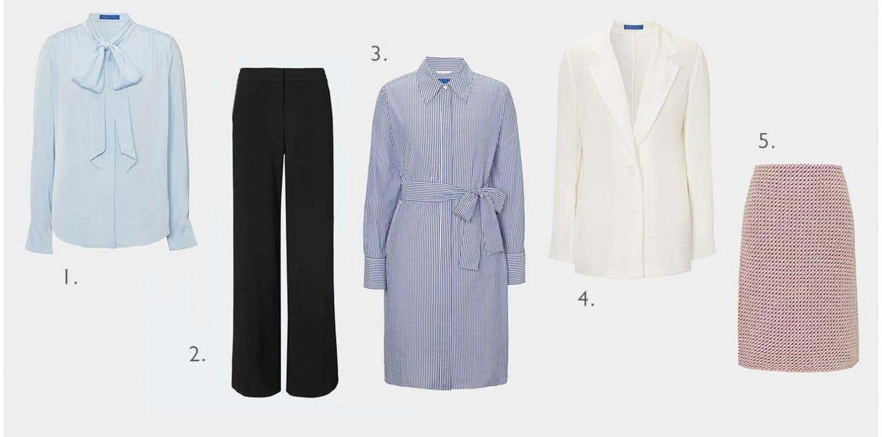 WORKWEAR FAVOURITES: THE KEY PIECES