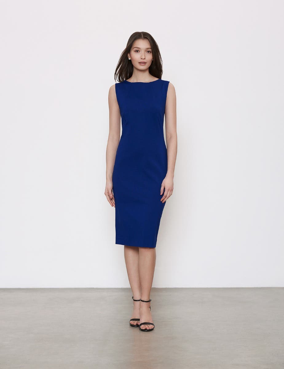 MIRACLE SLEEVELESS SHIFT DRESS