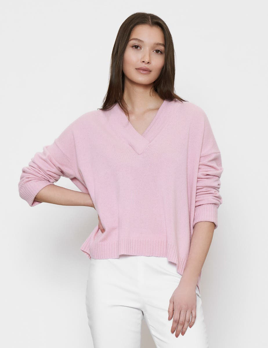 AUDREY V NECK JUMPER