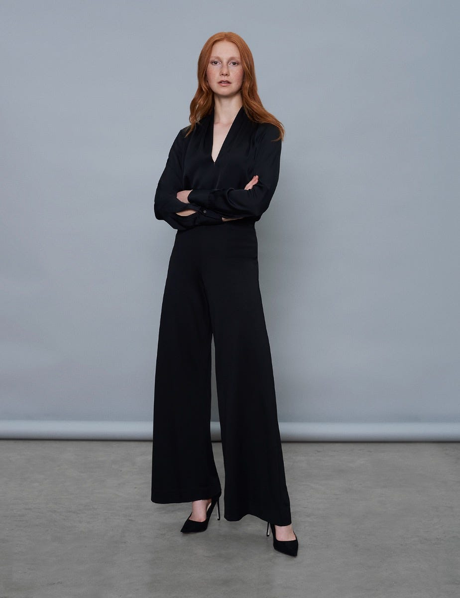 SOFT JERSEY TROUSERS