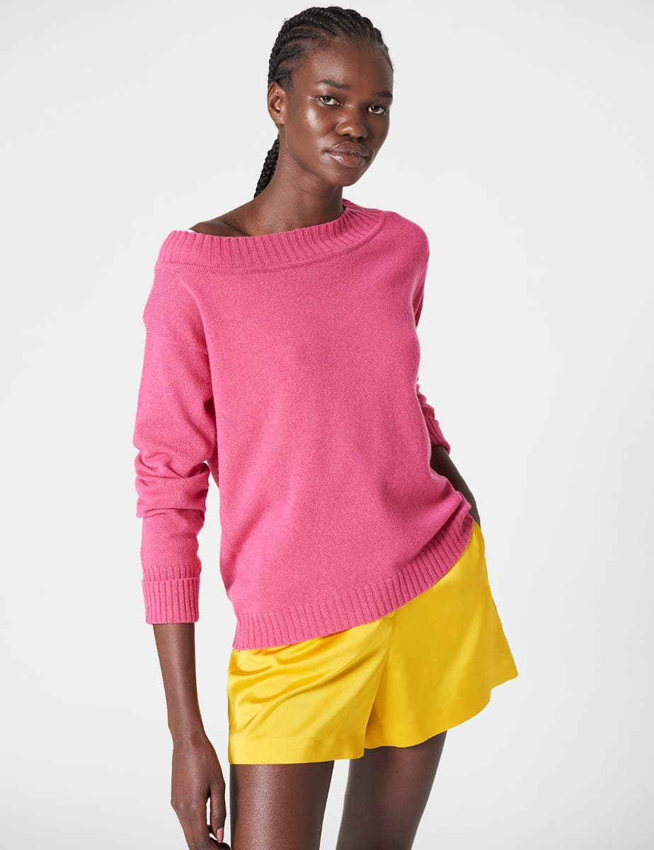 AUDREY RECYCLED CASHMERE JUMPER