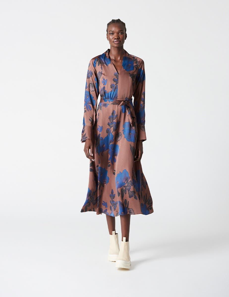 EMMA FLOWER PRINT DRESS