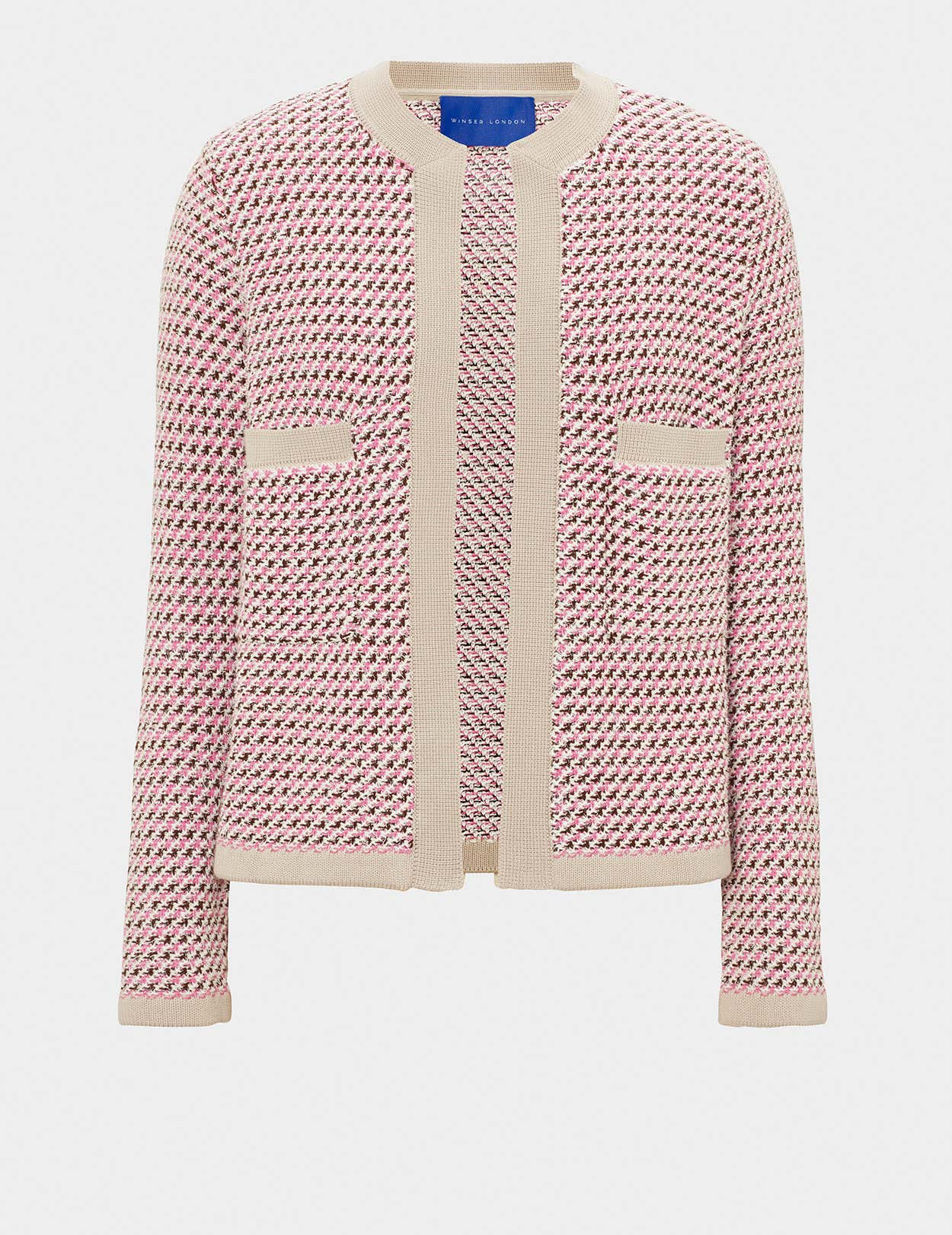 COTTON TWEED JACKET