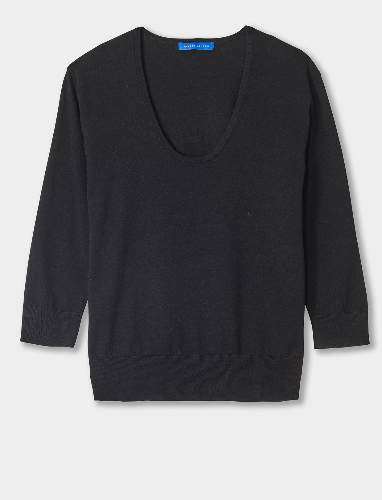 BRIGITTE SCOOP NECK JUMPER