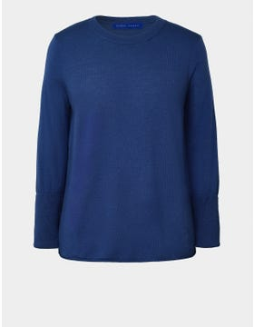 Merino Wool Fitted Jumper