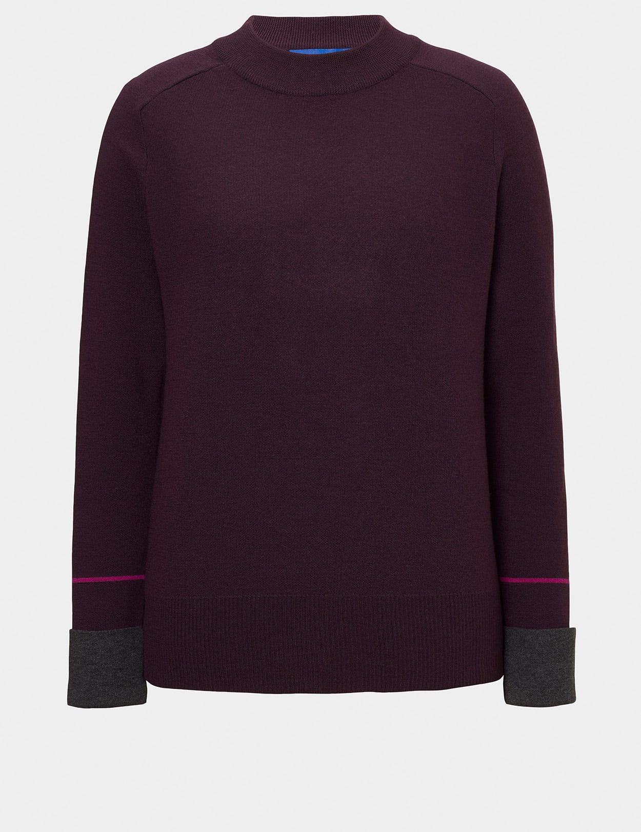 DOUBLE FACED SPORTY JUMPER