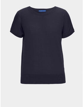 Cotton Short Sleeve Jumper