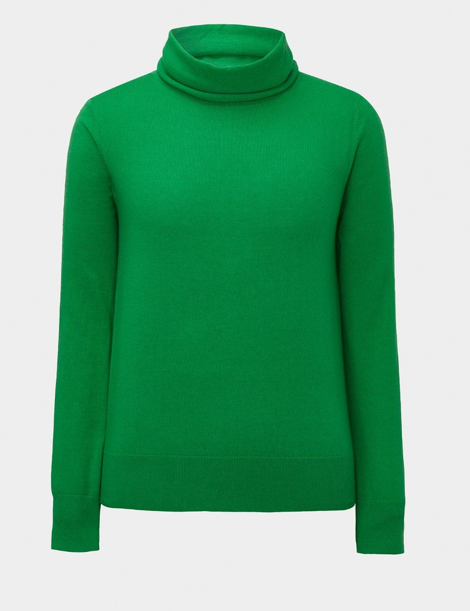 CASHMERE ROLL NECK JUMPER