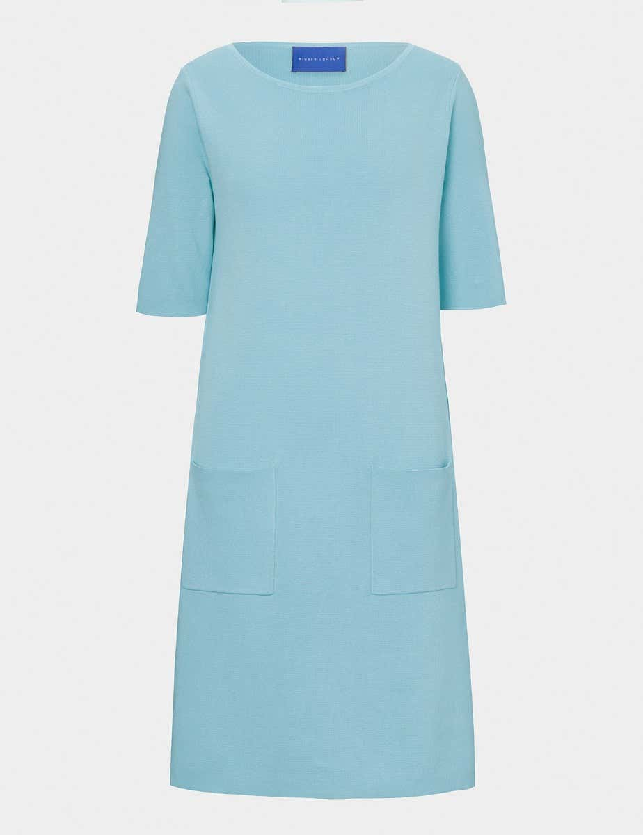 MILANO COTTON SHIFT DRESS