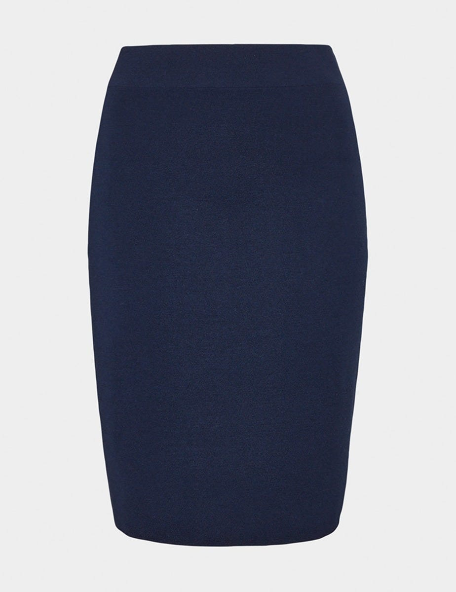 MILANO WOOL PENCIL SKIRT
