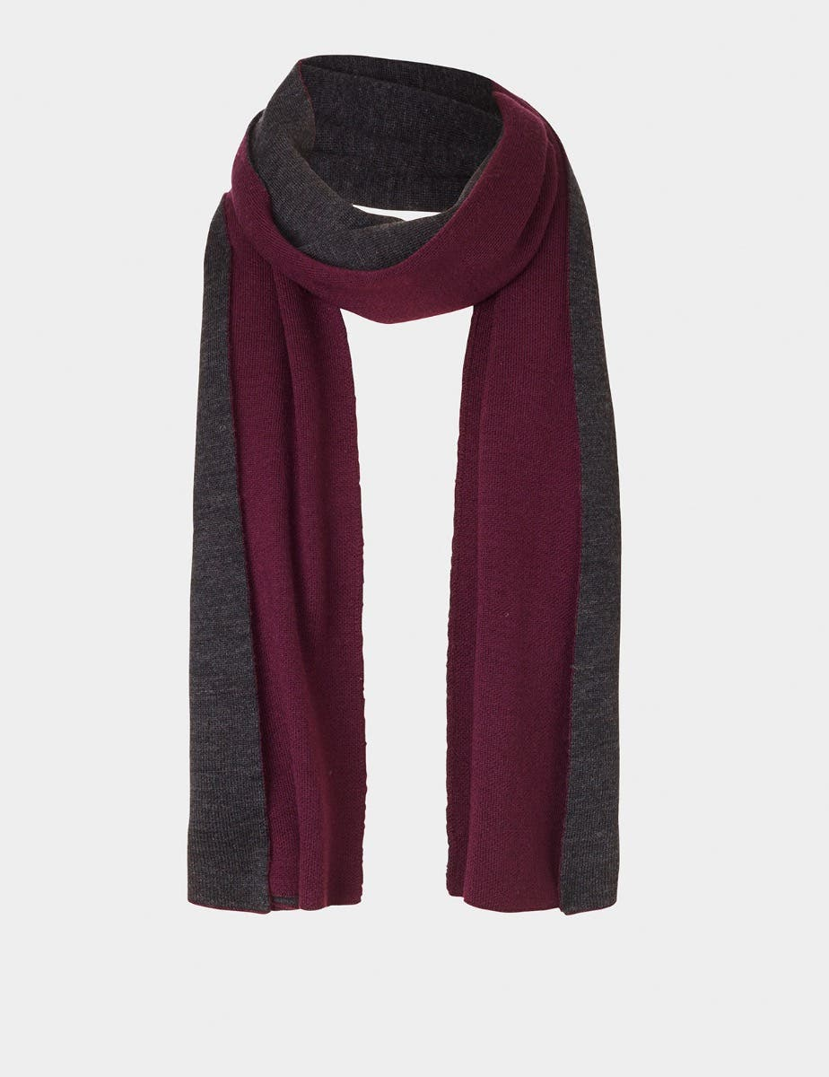 DUAL COLOUR SCARF
