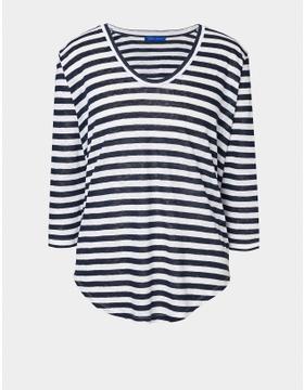 Pure Linen Striped Tunic
