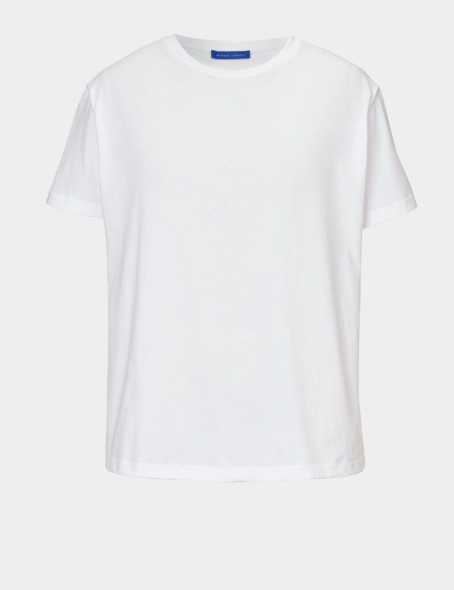 BOYFRIEND COTTON T SHIRT