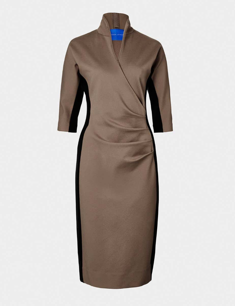 GRACE COLOUR BLOCK DRESS