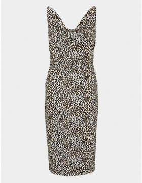Leopard Print Soft Sleeveless Dress