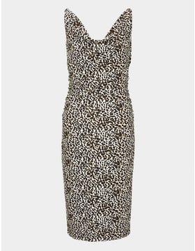 Leopard Print Soft Sleeveless Dress