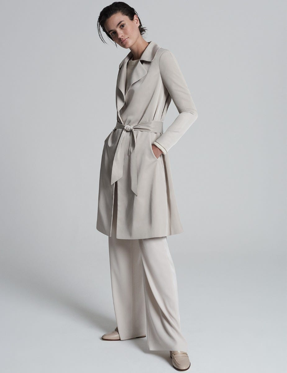 A LINE CLASSIC TRENCH COAT