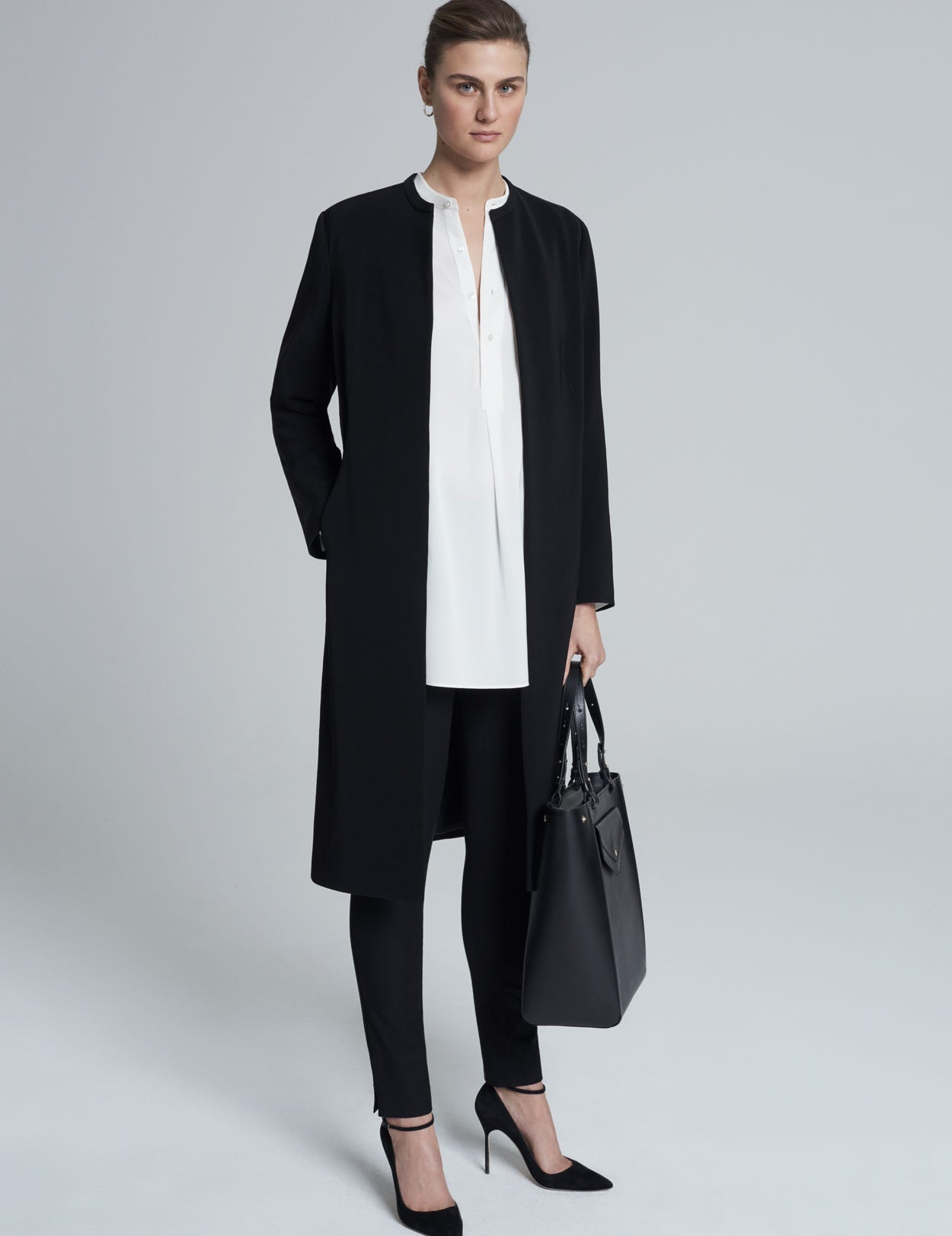 EDGE TO EDGE WOVEN COAT