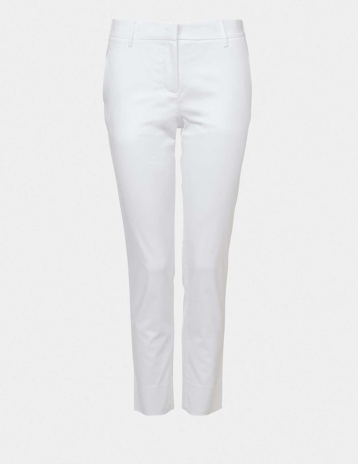 Cotton Twill Straight leg Trouser
