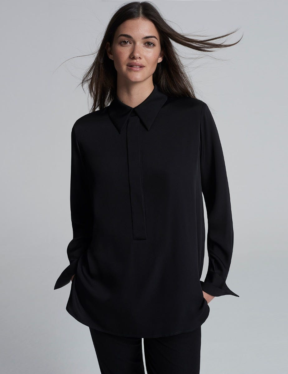 LAUREN SILK SHIRT