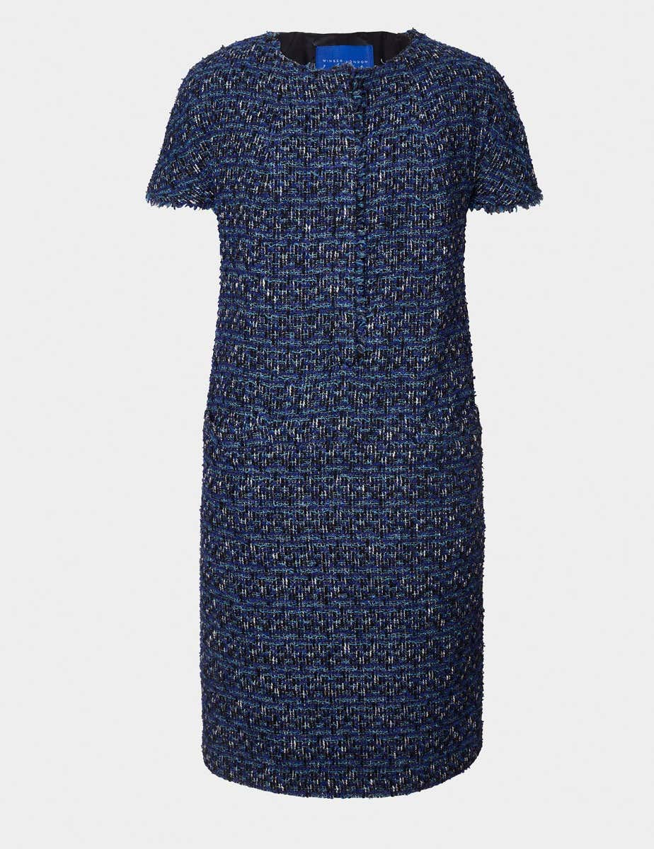 ENGLISH TWEED DRESS