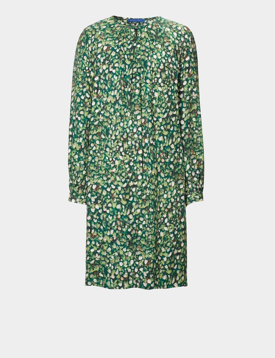 MINI ROSE PRINT EASY SHIFT DRESS