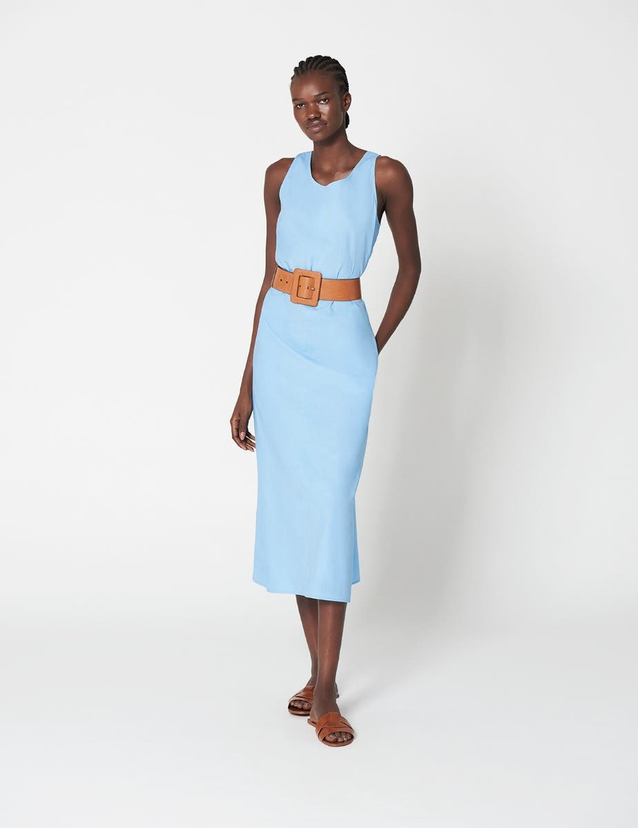 SUMMER COTTON A LINE SHIFT DRESS
