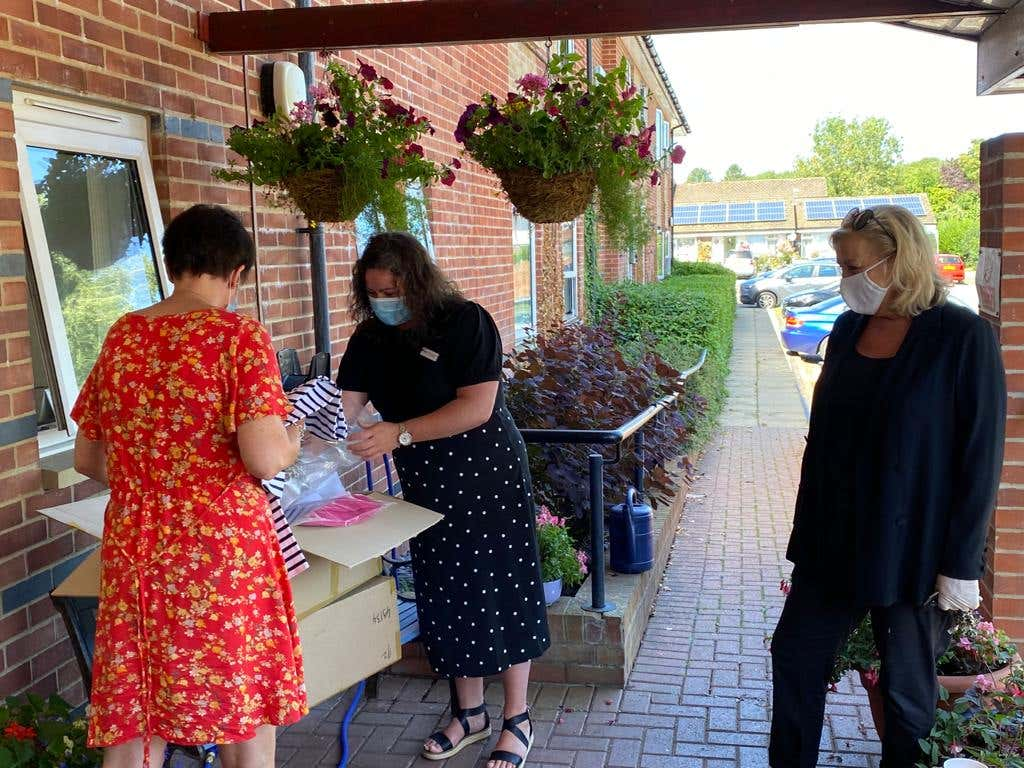 Kim Winser giving back to care home
